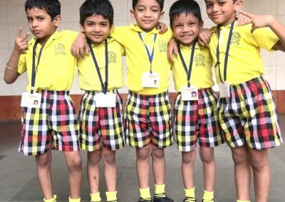 jR. kG uniform boys