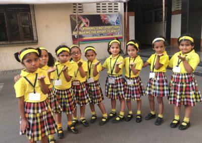 Sr. Kg girls